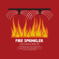 Fire Sprinkler Life Safety Royalty Free Stock Photo