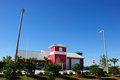 The fire station in orlando fl located suburb area florida usa Stock Image