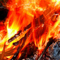 Fire texture Stock Photography