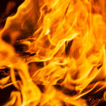 Fire texture, flame abstract background