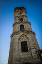 Fire Tower in Grodno, Belarus. Royalty Free Stock Photo