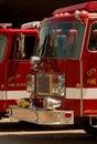 Fire trucks Royalty Free Stock Photo
