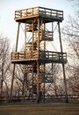 Fire Watch Tower Royalty Free Stock Photos