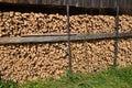 Fire wood. Stock Photos