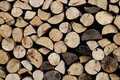 Fire wood pile Stock Photography