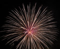 Fire Works Stock Images