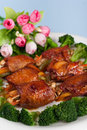Fired chicken wings Stock Image