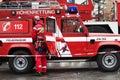 Firefighting Royalty Free Stock Image