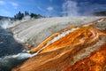 Firehole River of Yellowstone Royalty Free Stock Photo