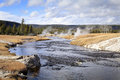 Firehole River Royalty Free Stock Photo