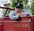 Fireman officer Royalty Free Stock Photos