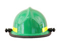 Fireman s helmet isolated firemans over a white background with a clipping path at original size Royalty Free Stock Photography