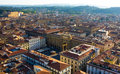 Firenze panoramic cityscape Royalty Free Stock Photo