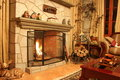 Fireplace Stock Images