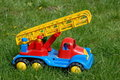 Firetruck toy Royalty Free Stock Photo