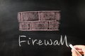 Firewall Royalty Free Stock Photography