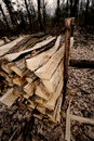 Firewood Royalty Free Stock Images