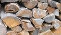 Firewood logs Royalty Free Stock Photo