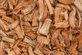 Firewood, made ​​from coconut husk Royalty Free Stock Image