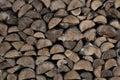 Firewood - pile of wood