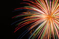 Firework bright explosion Royalty Free Stock Photo
