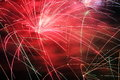 Firework display Stock Images