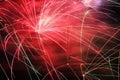 Firework display Royalty Free Stock Photo