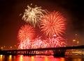 Firework Festival Royalty Free Stock Photo