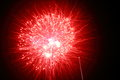 Firework the image of the bright red light of Stock Photos