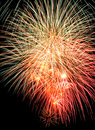 Firework Light Trails Royalty Free Stock Images