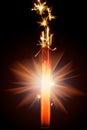 Firework sparkler Royalty Free Stock Photo