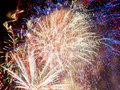 Fireworks Abstract Royalty Free Stock Photo