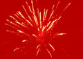 Fireworks background red abstract holiday Stock Image