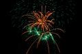 Fireworks Burst Royalty Free Stock Photo