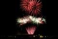 Fireworks Bursts Royalty Free Stock Photo