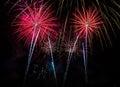 Fireworks Four Royalty Free Stock Photo
