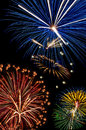 Fireworks,July4th,Independence day Royalty Free Stock Photo