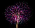 Fireworks for new year happy Royalty Free Stock Photos