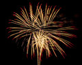 Fireworks for new year happy Royalty Free Stock Image