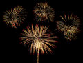 Fireworks for new year happy festival Royalty Free Stock Photos