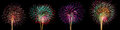 Fireworks for new year happy festival Royalty Free Stock Image
