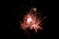 Fireworks in Night Sky Royalty Free Stock Photography