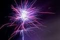 Fireworks - Purple Haze Royalty Free Stock Photo