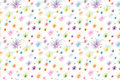 Fireworks seamless pattern Royalty Free Stock Photography