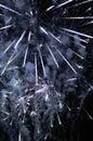 Fireworks - Star Burst Display Royalty Free Stock Photo
