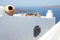 Firostefani santorini a view from village greece Stock Photo