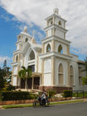 First African Wesleyan Methodist Church of Samana Royalty Free Stock Photo