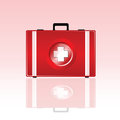 First aid bag vector illustration Royalty Free Stock Photo