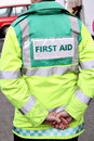 First aid jacket Royalty Free Stock Image