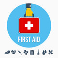 First aid kit concept Royalty Free Stock Photo